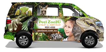 Peel Zoo2U: We bring the Zoo to you.
